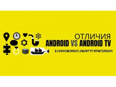 Android и android tv отличия смарт тв приставок?