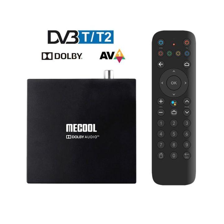 Mecool KT1 DVB-T2 2/16 Смарт тв приставка