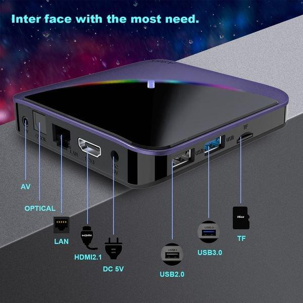tv box a95x F3