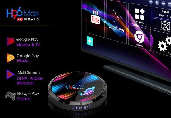 смарт тв box H96 Max X3