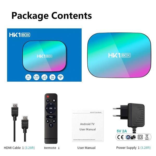 smart tv box hk1 box