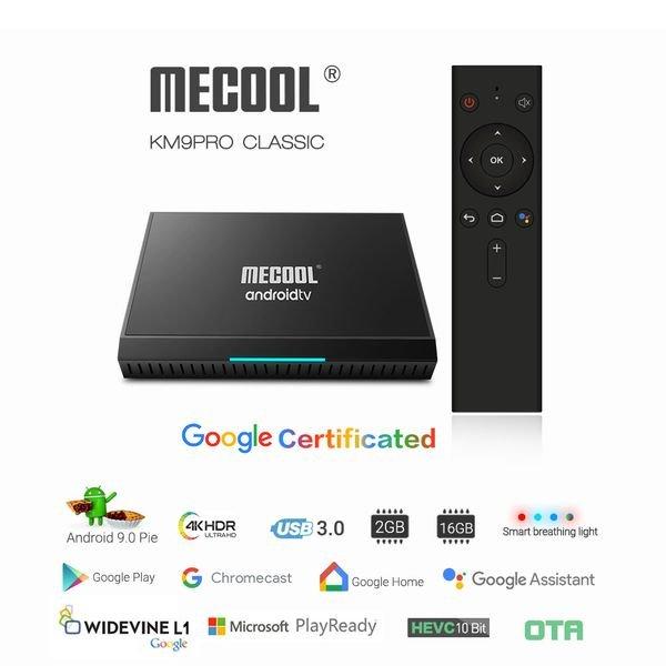смарт тв приставки Mecool KM9 pro classic