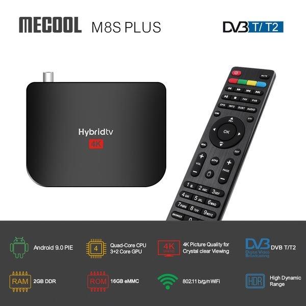 Mecool M8S Plus DVB Т2