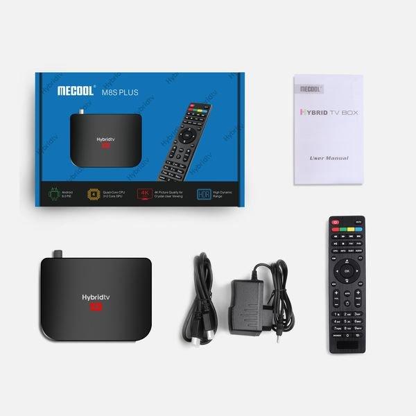 smart tv box Mecool M8S Plus DVB Т2
