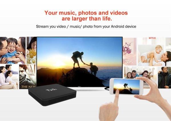 Smart tv box Tanix TX9S
