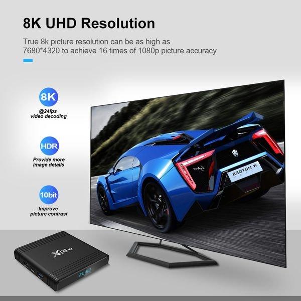 Smart tv box X96 Air