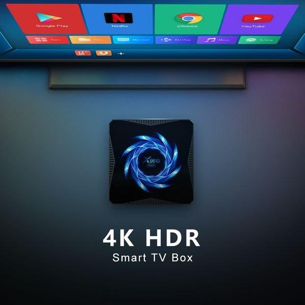 Smart tv приставка X96Q